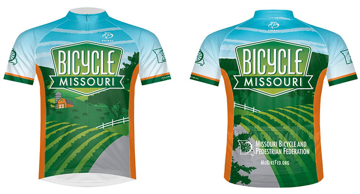 BikeMO Bicycle Missouri Jersey